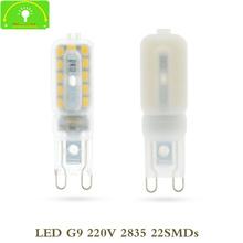 Buy 5PCS AC220V MINI G9 LED Lamp 7W SMD 2835 G9 Bulb Milky/Transparent PC MASK Replace Halogen LIGHT Crystal Spotlight for $6.70 in AliExpress store
