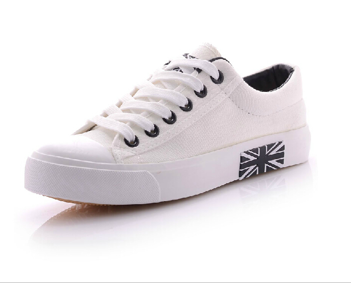 High quality high low unisex canvas shoes Casual Breathable Flats women men shoes lace up<br><br>Aliexpress
