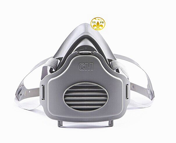 The new 2016 dust respirator mask3300 rubber gray dust mask industrial dust respirator mask quality goods bag mail