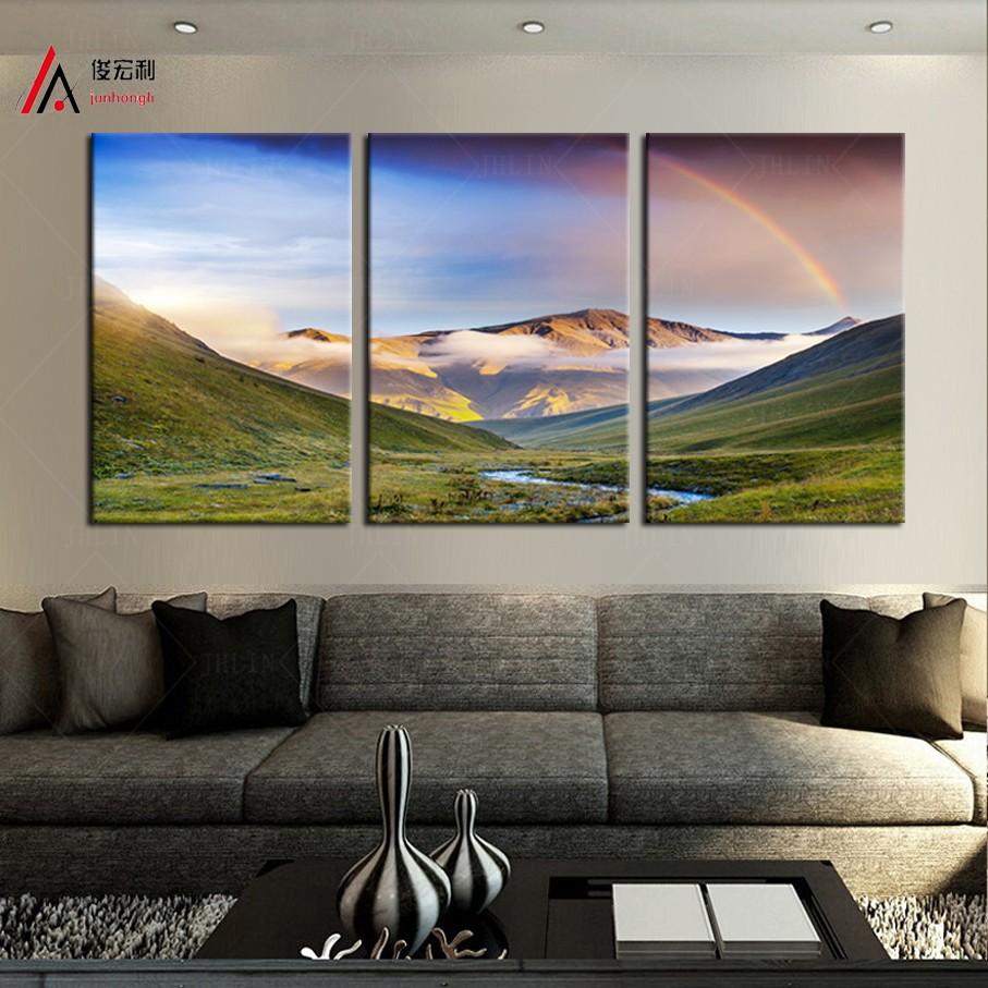 Online kopen wholesale mooie berg pictures uit china mooie berg pictures groothandel - Modulaire muur ...
