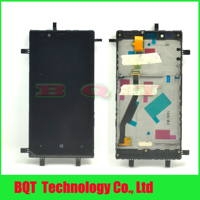 For Nokia Lumia 720 N720 Lcd screen display with touch screen digitizer assembly + Bezel frame Free shipping(China (Mainland))