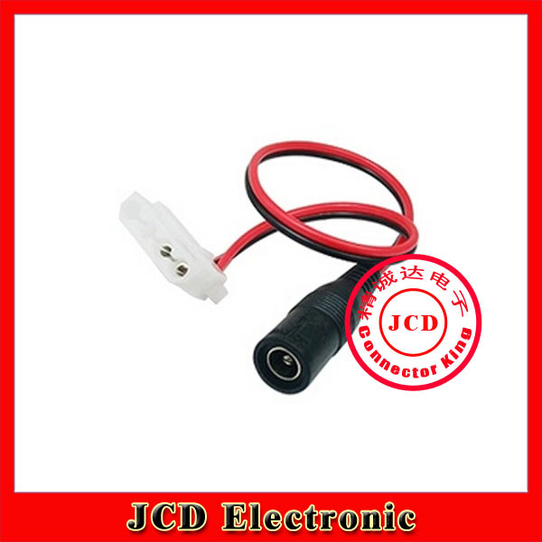 DC 5.5x2.1mm 4Pin joint router radiator fan power 12V or 9V special adapter cable(China (Mainland))