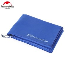 Naturehike Microfiber Quick Drying Towel Antibacterial Ultralight Compact fast dry Towel For hair outdoor Camp 3 Colors 130*73cm(China (Mainland))