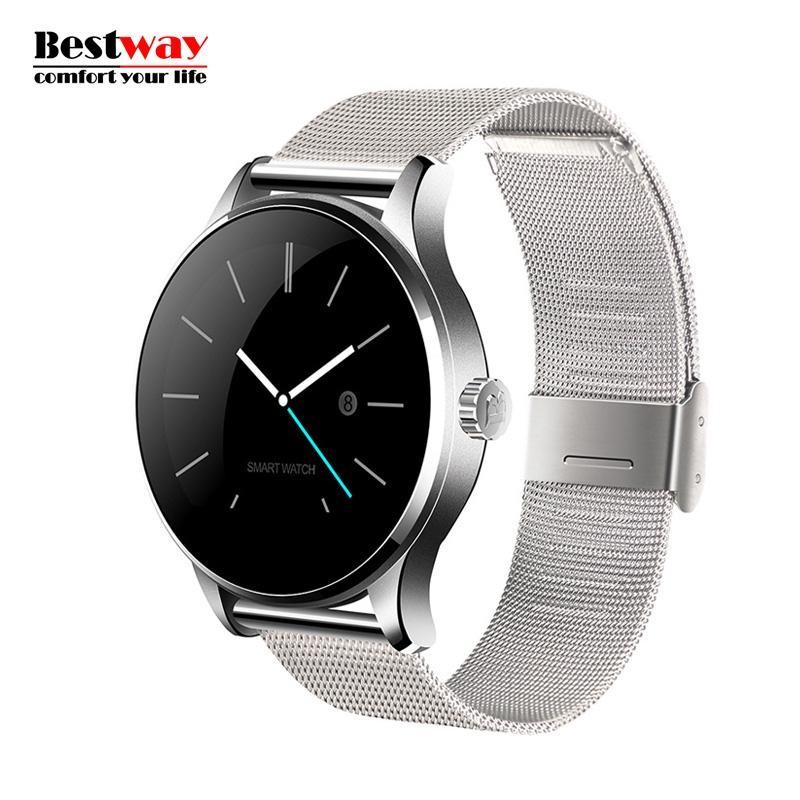 K88H/S88 Smartwatch Bluetooth Watch Smart Heart Rate Monitor Wristwatch Erkek Kol Saati Blood Pressure Wrist Watch Orologio(China (Mainland))