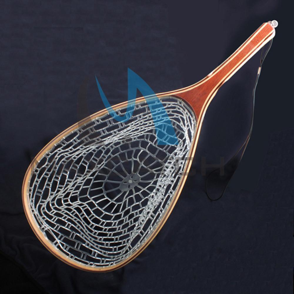 Maxcatch Fly Fishing Landing Net Wooden Handle Nylon Fishing Landing Net Fishing Net 609<br><br>Aliexpress