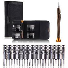 25 in 1 schraubendreher torx herramientas ferramentas schraubendreher brieftasche gesetzt reparatur-werkzeuge für iphone 4s 5s handwerkzeuge neueste(China (Mainland))