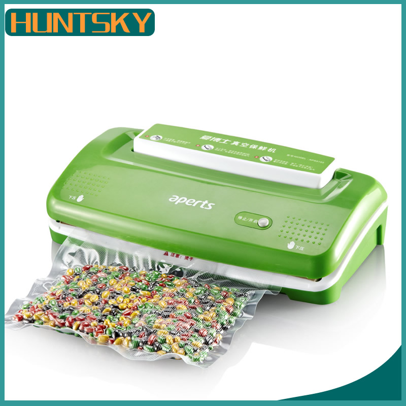 free shipping New Automatic Electric Vacuum Food Sealer Machine With All Size Vacuum Bag For Peanut Portable(China (Mainland))