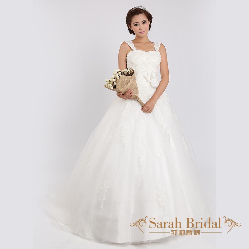 Top Luxury Wedding Dress : Aliexpress buy wedding dress double shoulder