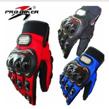 3 colors Pro-biker Motorcycle Bike Full Finger Performance Gloves Motocross Off-road Sports Gloves Racing Knight Protective Gear
