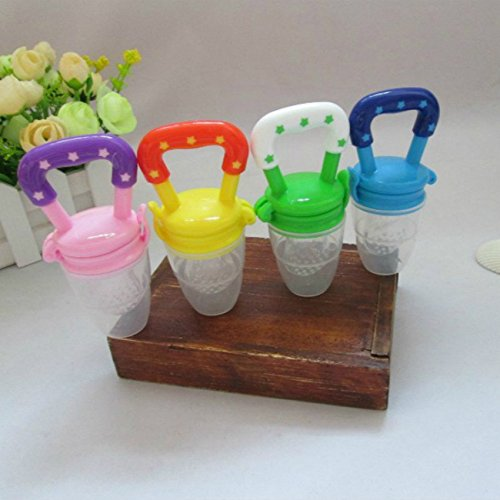 2016 Chupeta Attache Sucette New Kids Nipple Fresh Food Milk Nibbler Feeder Feeding Safe Baby Supplies Teat Pacifier