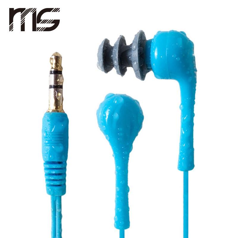 Sport Waterproof In Ear font b Earbud b font Stereo Earphone for iPod iPhone MP3 Player