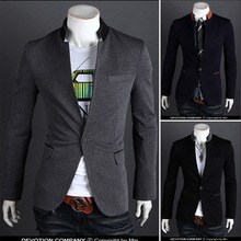 2015 New New Arrival Regular Polyester Cotton Single Breasted Broadcloth Full Jacket Men Blazer Men Blazer