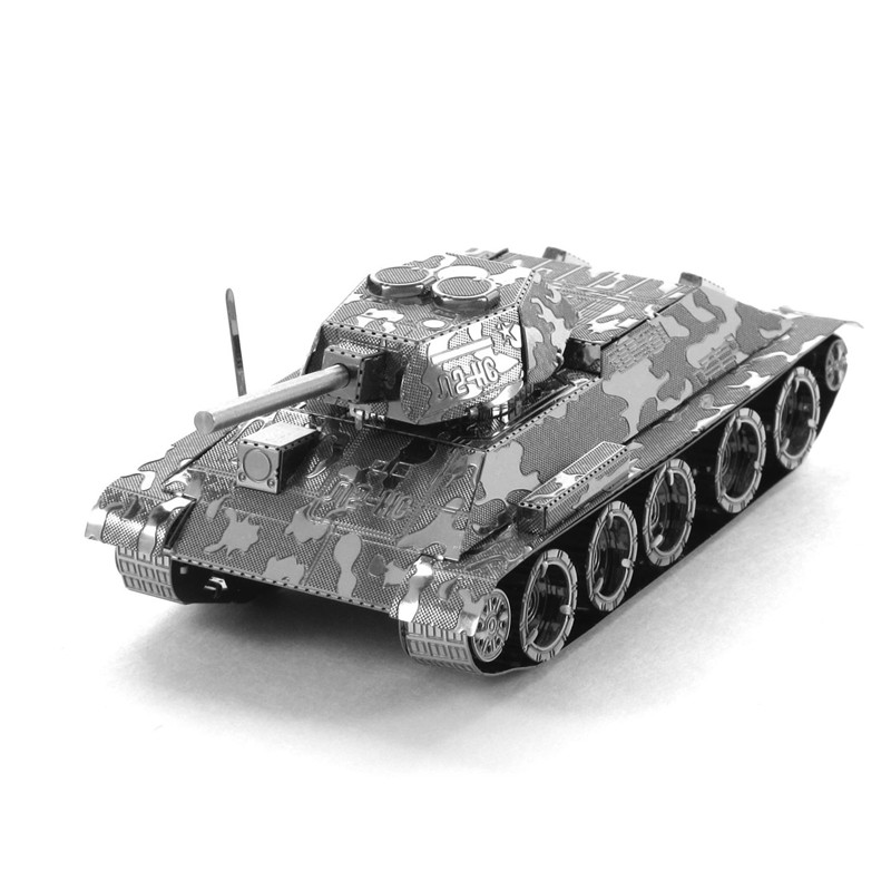 World Tank Ww2 Panzerkampfwagen Vi Ausf. E Tiger I 3d Metal Diy Steel Scale Miniature Model Adults Hobby Creative Puzzle Toys(China (Mainland))
