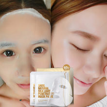 2016 Mask The Snail Whitening Moisturizing Acne Treatment Anti-aging Oil-control Tony Moly Pilaten Freeshipping