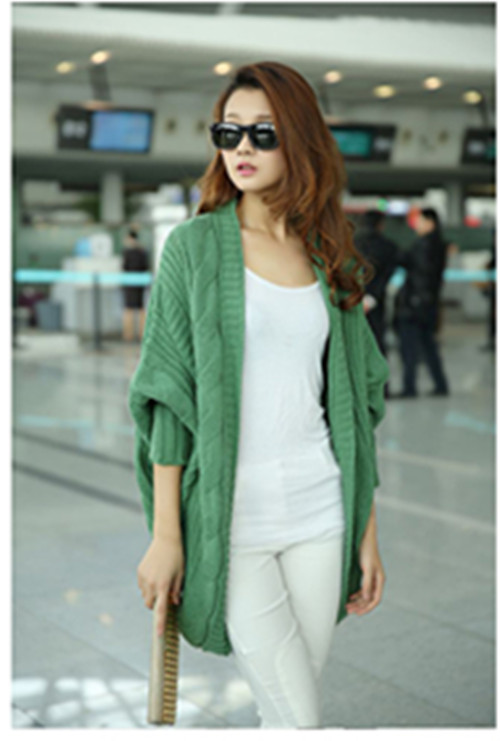 buy 2014 fashion new women plus size cardigans knitted
