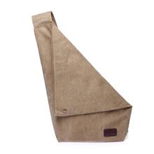 Men's Vintage Canvas Leather Messenger Shoulder Bag Satchel Crossbody Shoulder Bags Military Satchel Hiking Bag