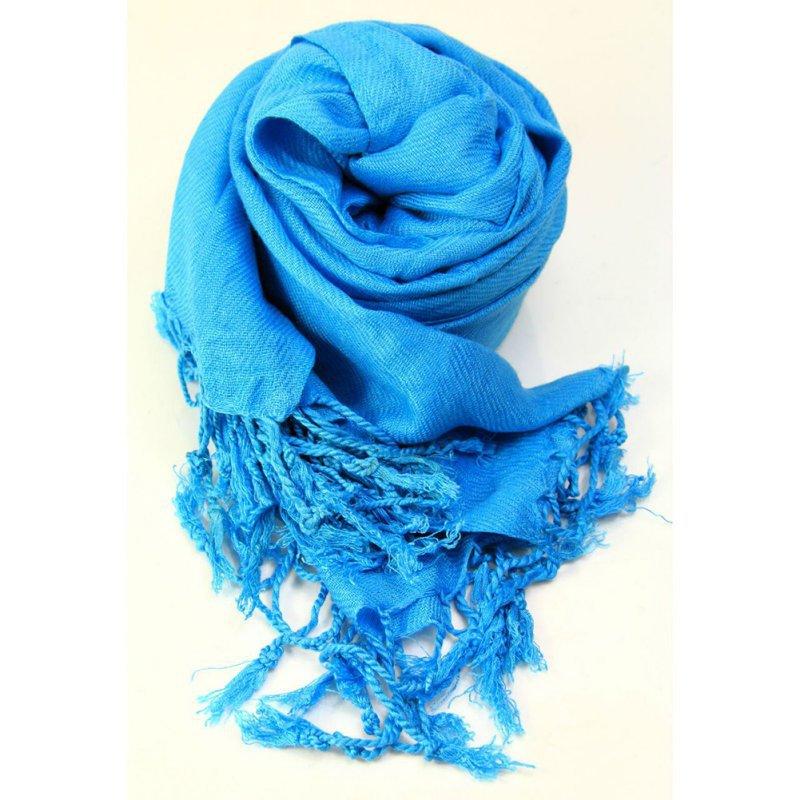 High Quality Women Ladies Neck Scarf Plain Pashmina Shawl Hijab Wrap Top Quality 100% Scarves(China (Mainland))