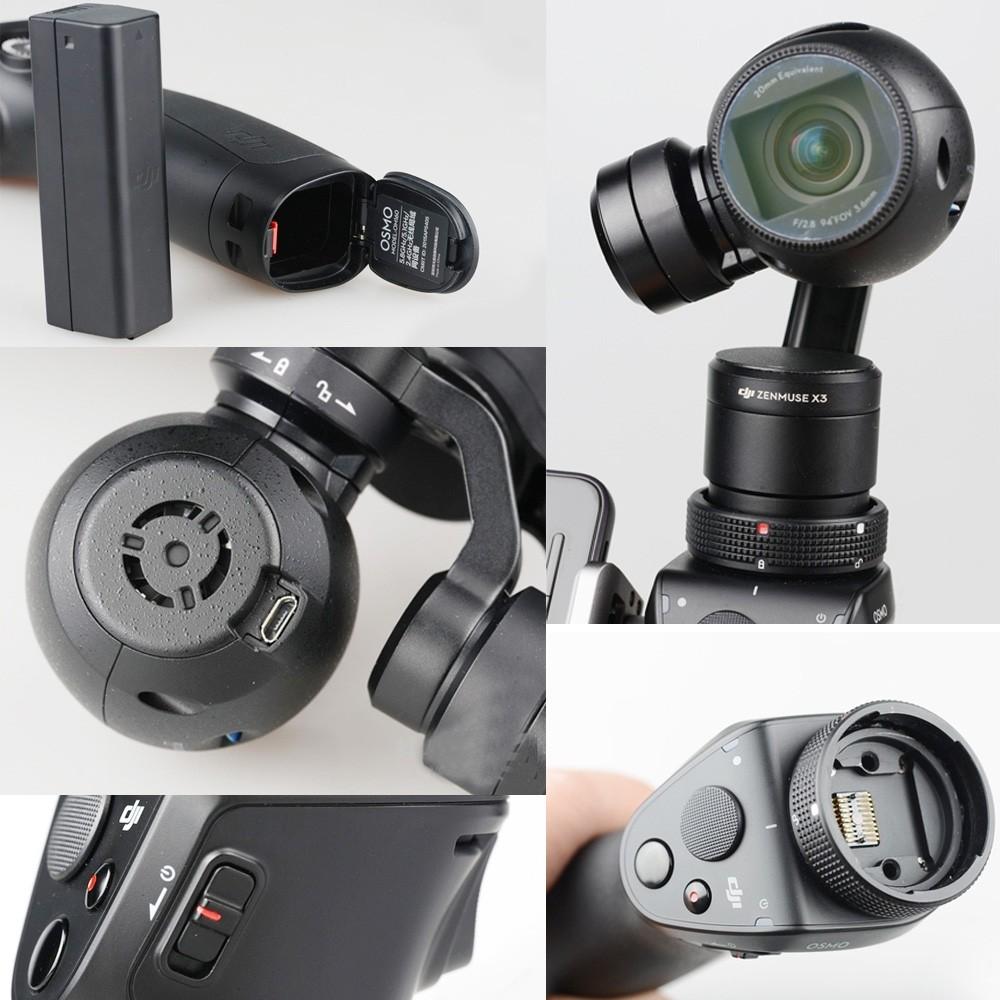 Original DJI Osmo Genggam Handheld 4K Camera & Microphone Stabilizer Gimbal Original Gimbal DJI phantom 3 DHL EMS Free shipping