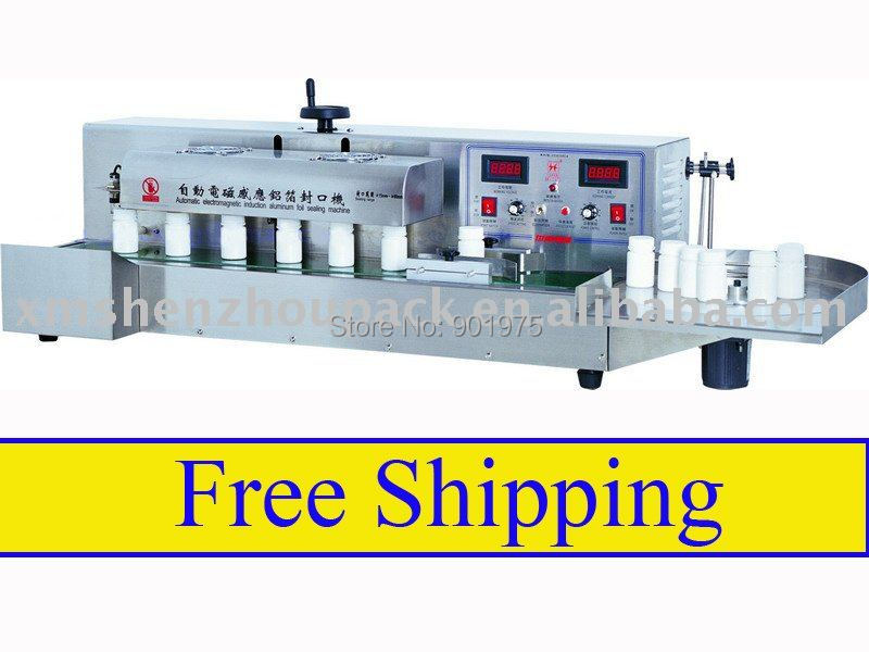 Table Top Automatic Glass Bottle Aluminum Cap Sealing Machine, Factory Sale Low Price - Shenzhou Packing Machine Co., Ltd. store