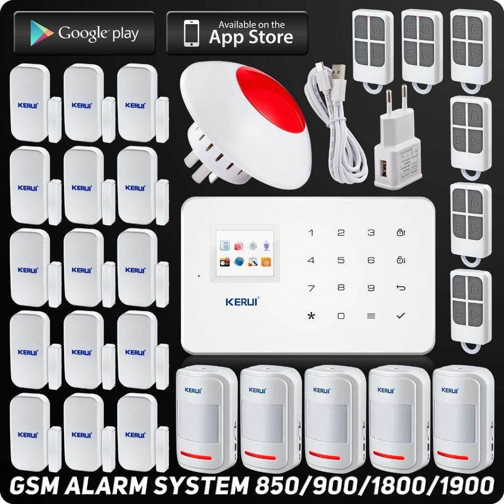 DHL/EMS Free Shipping IOS Android APP Control Wireless GSM SMS Buglar Alarm System Home Alarm System Wireless Flash Strobe Siren(China (Mainland))