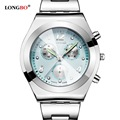 LONGBO Brand Fashion Full Steel Dress Watches For Women Ladies 2016 Quartz Wristwatch Famous Brand Relogio