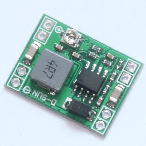 Smart Electronics XM1584 Ultra-small Size DC-DC Step Down Power Supply Module 3A Adjustable for Arduino Diy Starter Kit LM2596S(China (Mainland))