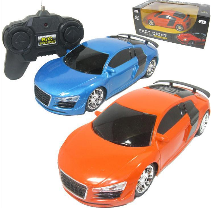 car model high speed drift car model 4 Channels remote car light children classic gift RC Cars toy(China (Mainland))