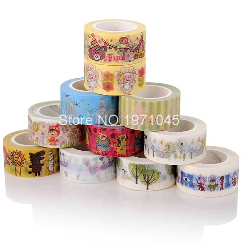 Beautiful tape with kraft washi paper tape high quality paper tape<br><br>Aliexpress