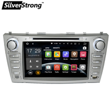 Free shipping Quad core 1024*600 HD 2 din Android car dvd player For CAMRY 2007-11 auto radio double din with google play(Hong Kong)