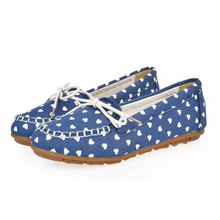 Women Flats Round Toe Flat Shoes Woman Summer Canvas Espadrilles Slip On Women Shoes Bowknots Ladies Shoes Print Zapatos Mujer(China (Mainland))