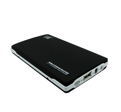New SSK brand SHE030 High-Quality 2.5'' inch Metal HDD Enclosure Suport IDE to USB2.0 the external hard drive case(China (Mainland))