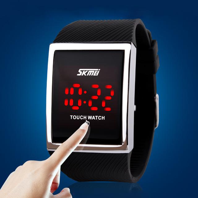 Zegarek sportowy cyfrowy SKMEI dotykowy sylikonowy