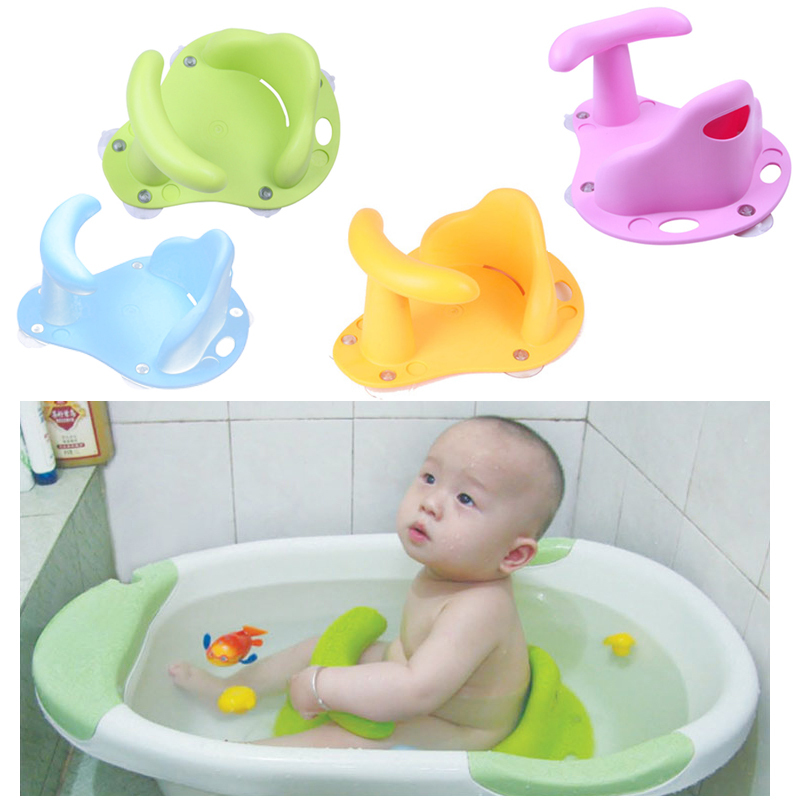 Baby Infant Kid Child Toddler Bath Seat Ring Non Slip Anti-slip Safety Security Chair Mat Pad Tub Bathtub ring 3 color(China (Mainland))