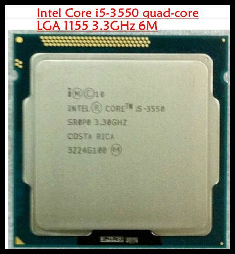 Процессор для ПК I5-3550 desktop intel Core quad/Core i5 i5/3550 3550 3,3 /6 M /LGA 1155 asus p8h61 m le desktop motherboard h61 socket lga 1155 i3 i5 i7 ddr3 16g uatx uefi bios original used mainboard on sale