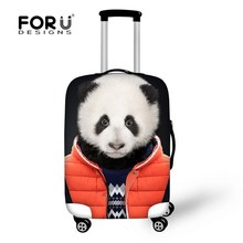 Custom Elastic 18 20 22 24 26 28 30 inch luggage protector cover waterproof travel suitcase luggage cover with zipper(China (Mainland))