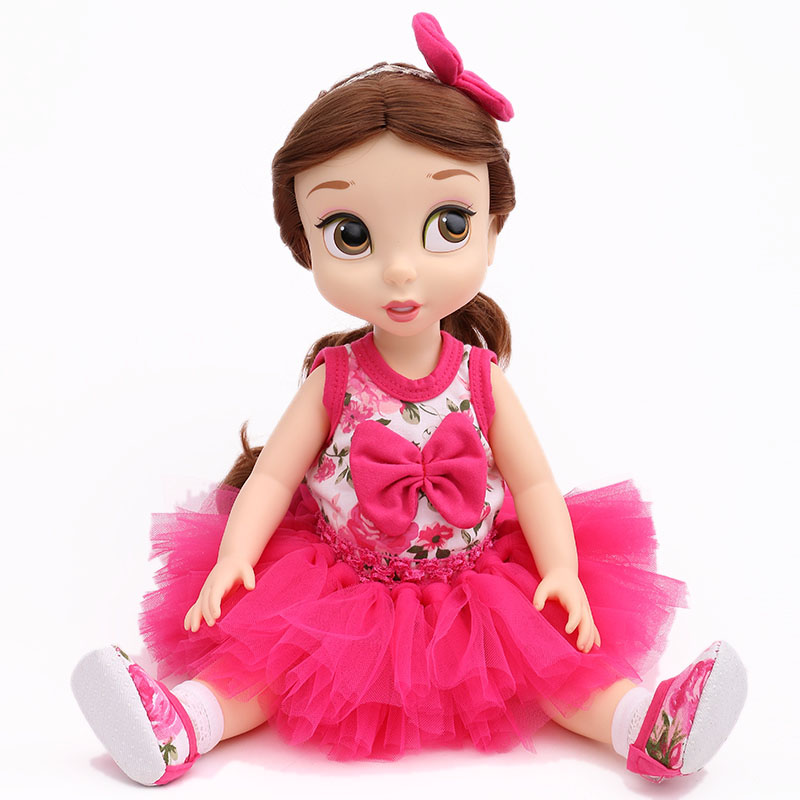 Free Shipping Doll Clothes 4pcs set 1Top 1Skirt 1Shoes