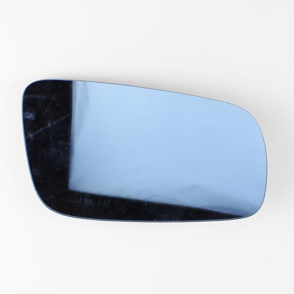 Right Door Blue Side Mirror Glass fit for VW Passat B5 Jetta Golf Bora MK4 99-04(China (Mainland))