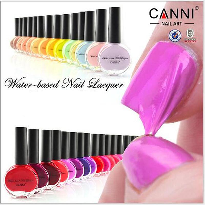 CANNI 14ml WATER-based Peel OFF Tearing color nail polish brand new nail art sweet color vogue cheap nail polish 811~819(China (Mainland))