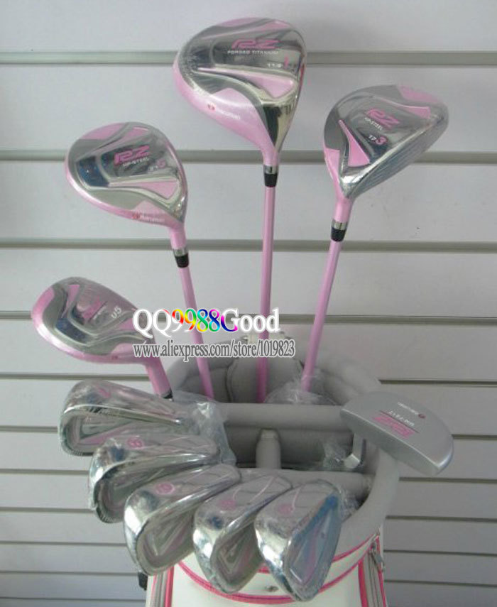 MARUMAN RZ Golf clubs Driver+Fairway wood+U5 hybrid wood+irons+Putter complete set of clubs graphite Golf shaft Free shipping(China (Mainland))