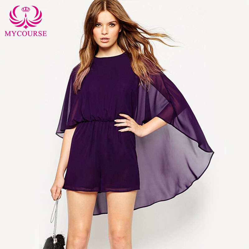 modern womens cloak style vintage chiffon solid