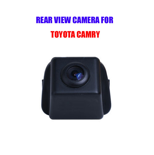 Free shipping Car Reverse Rear View Backup camera for Toyota camry with Guide Line 70 degree Reverse system waterproof(Hong Kong)