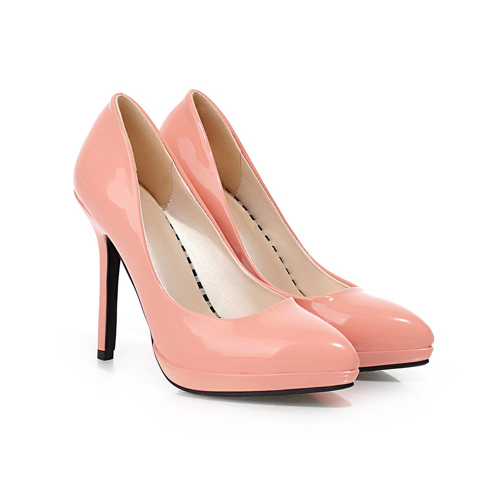 Fashion pointed toe platform women pumps patent leather women shoes pumps work shoes black nude white SM-7006(China (Mainland))