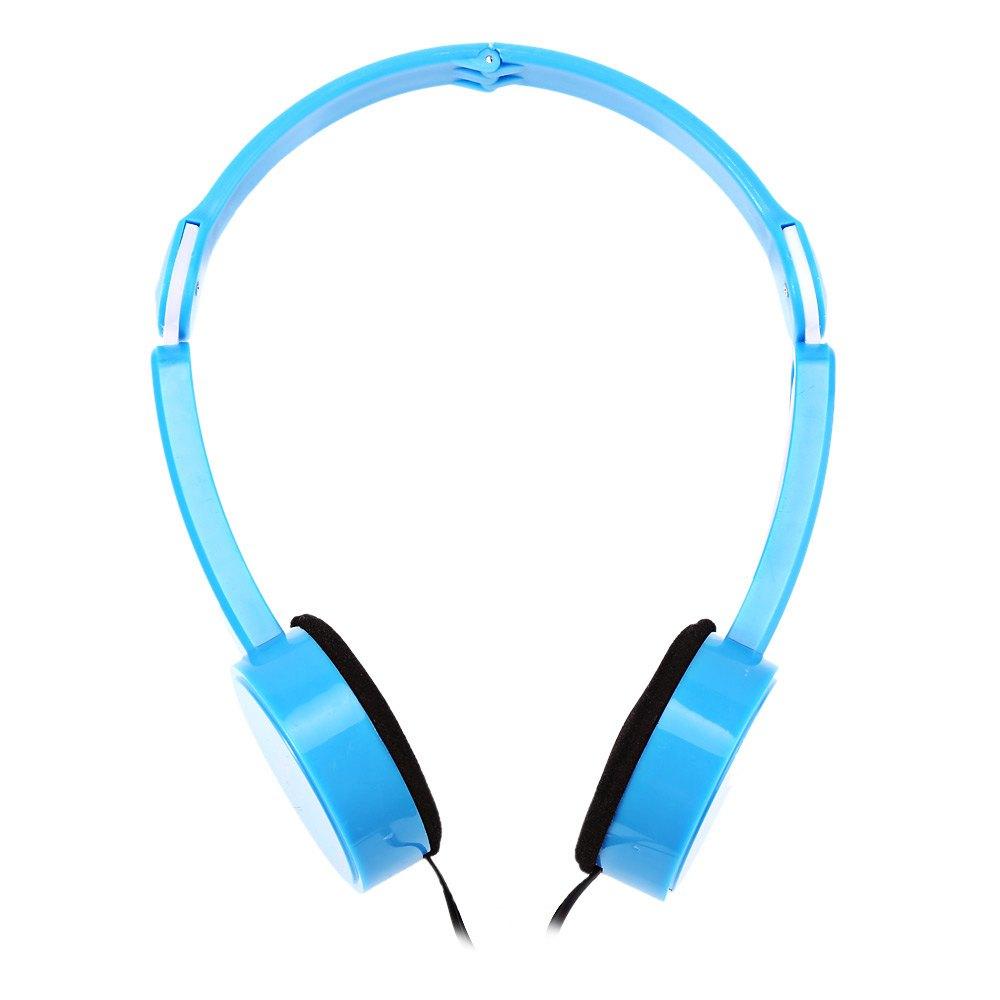 Retractable Foldable font b Kids b font Headband Earphone with Mic Stereo Bass Headset Earphones For