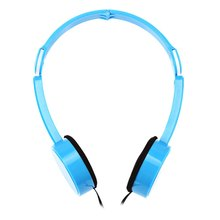 Retractable Foldable Kids Headband Earphone with Mic Stereo Bass Headset Earphones For iPhone iPod iPad Call Phone