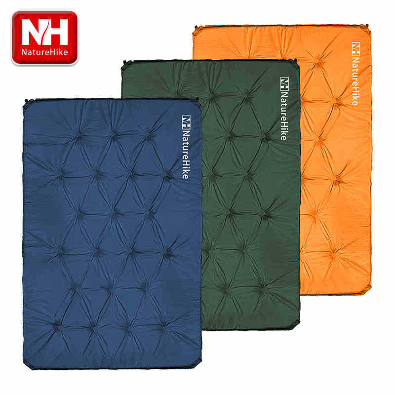 Double Self Inflatable Outdoor Mat automatic inflatable cushion Self-Inflating Air Pad moisture-proof mat travel pad- NatureHike(China (Mainland))