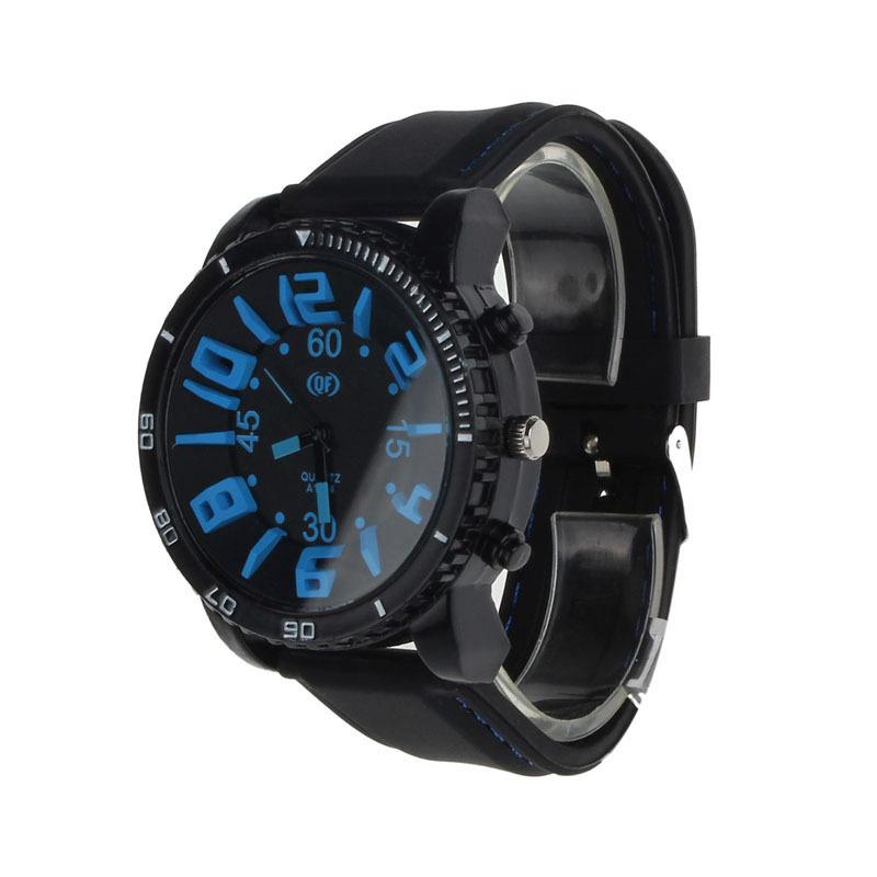 2016 Hot Sale New Product Men Silicone Rubber Strap Analog Quartz Sport Watch Fashion Relogio Masculino Clock Men Military Watch(China (Mainland))