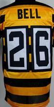 7 Ben Roethlisberger 43 Troy Polamalu 26 leveon bell 84 Antonio Brown Le'Veon Bell 50 Ryan Shazier jersey stitched elite(China (Mainland))