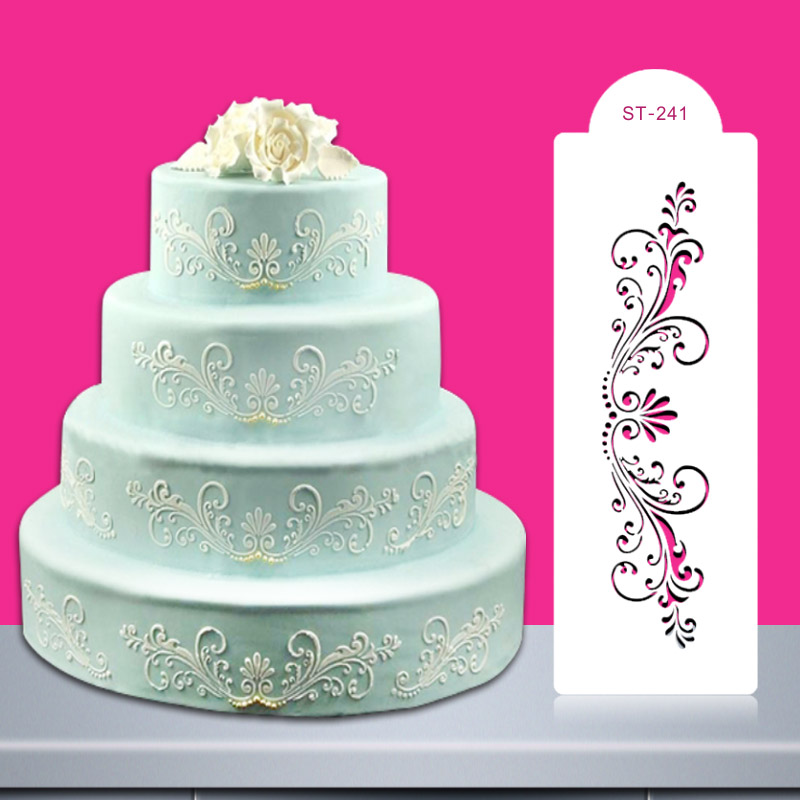 Wedding Cake Decoration Molds : Aliexpress.com : Buy Christmas Wedding Cake Stencil ...