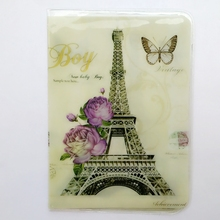 Buy Eiffel Tower Paris Passport Holder, PVC Leather 2D Thin Travel Passport Cover ID Card Holder Size:9.6*14cm Multiple Choice for $2.78 in AliExpress store