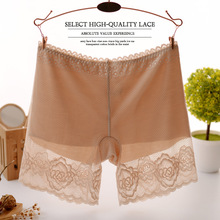 High Quality High Waist Thin Lace Short Pants Women Female Safety Shorts Sport Exercise Basic Seamless Safety Short Pants(China (Mainland))